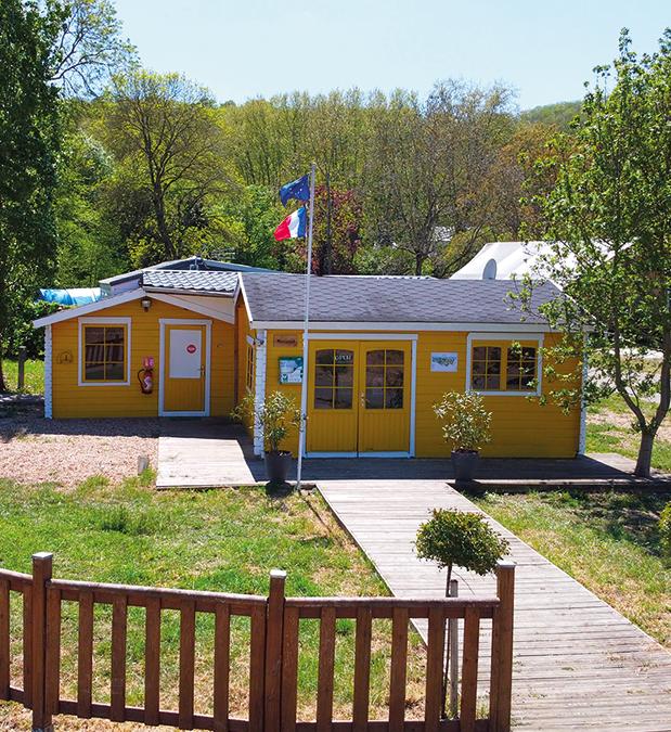 Accueil du Camping Le Vieux Moulin !