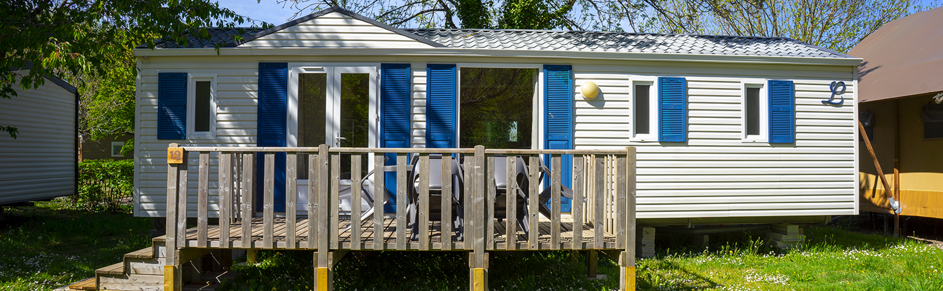 Martin : mobil-home 6 personnes en location au Camping Le Vieux Moulin